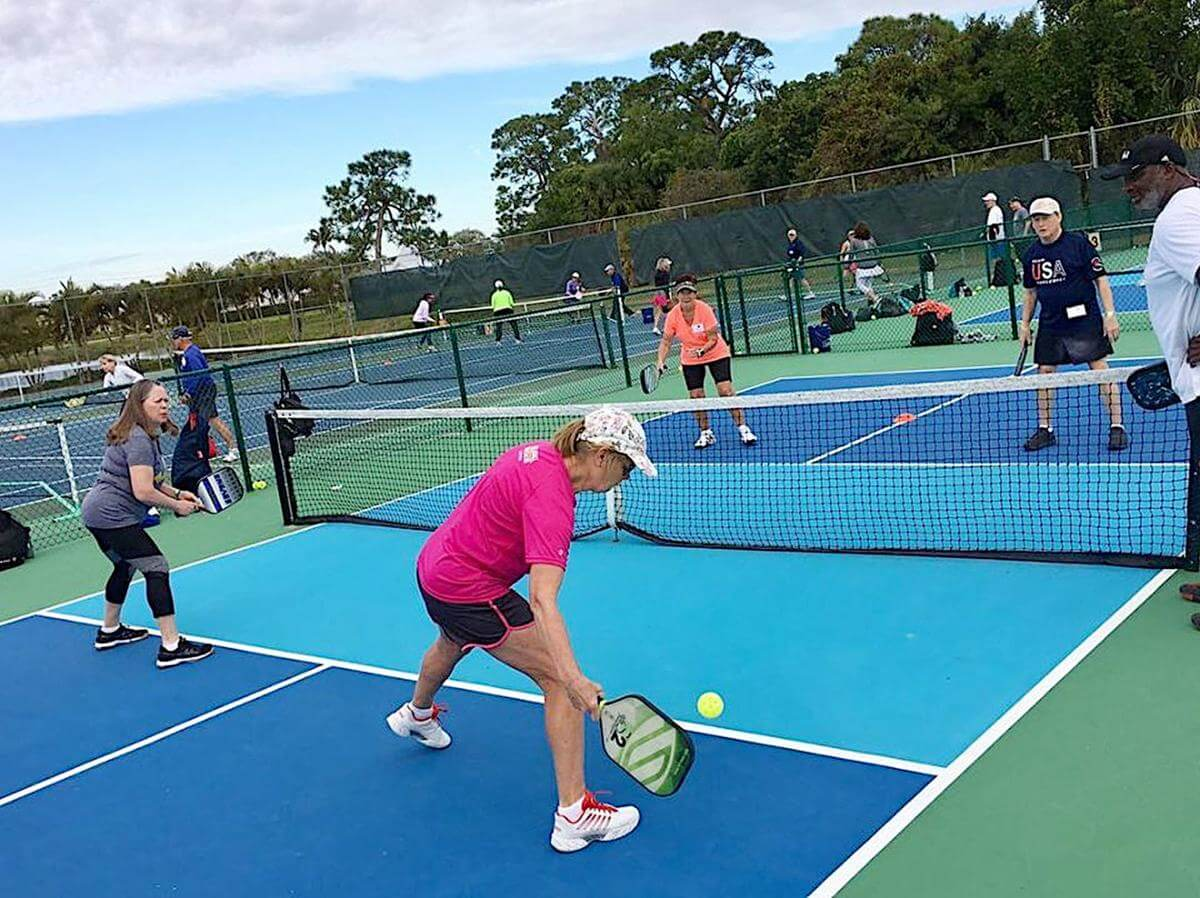 Pickleball strategy for double